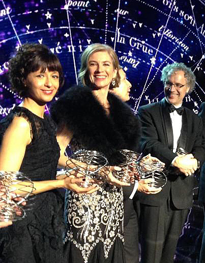 Emmanuelle Charpentier et Jennifer Doudna, co-lauréates du Breakthrough Prize